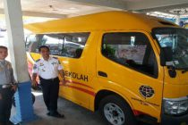 Dishub OKU Dapat Bantuan Satu Unit Bus Sekolah